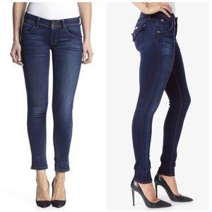 Hudson Collin Dark Wash Skinny Jeans